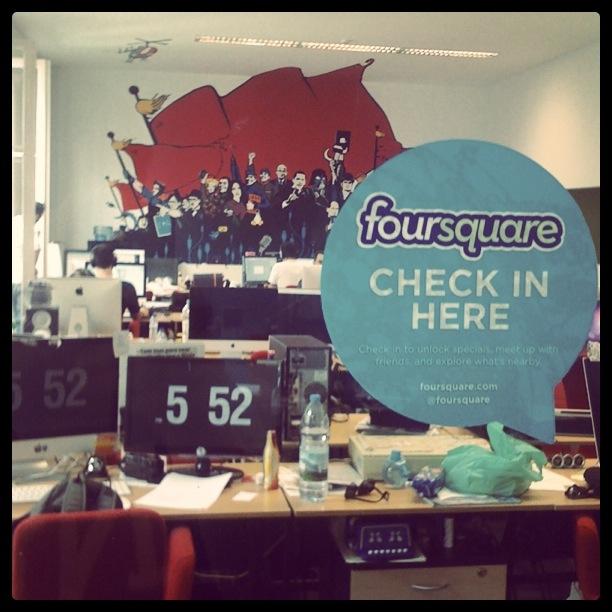 Foursquare @ Wiz IInteractive